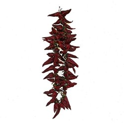 Dried Hungarian Hot Paprika on 50cm String