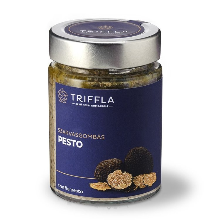 Black Truffle Pesto with Champignon & Porcini Mushrooms 100g