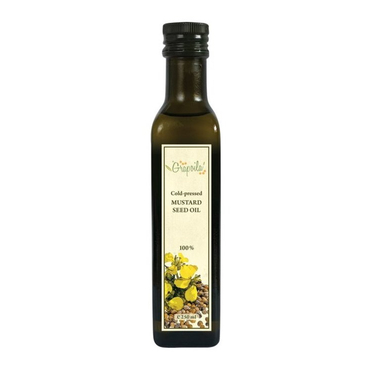 Cold-Pressed Mustard Seed Oil 250ml
