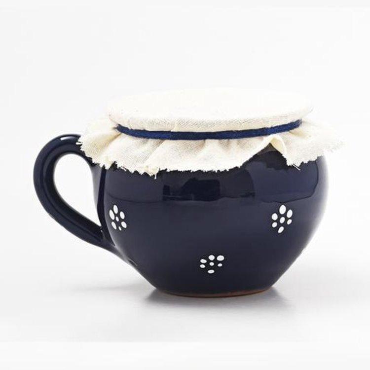 500g Hungarian Plum Jam in Artisan Clay Pot