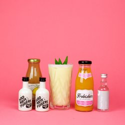 Pina Colada & Mai Tai Cocktail Gift Kit Inc. Dead Mans Fingers Rums & Orange Liqueur