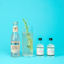 Masons Peppered Pear Gin & Tonic Gift Set with Premium Tonic Water