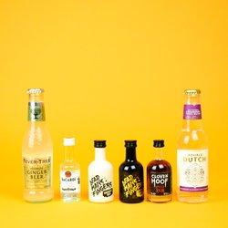 Caribbean Rum Tasting Gift Set Inc. Dead Man's Fingers, Bacardi & Cloven Hoof Rums