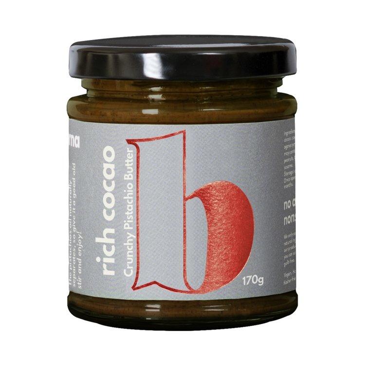 Crunchy Rich Cacao & Pistachio Nut Butter 170g