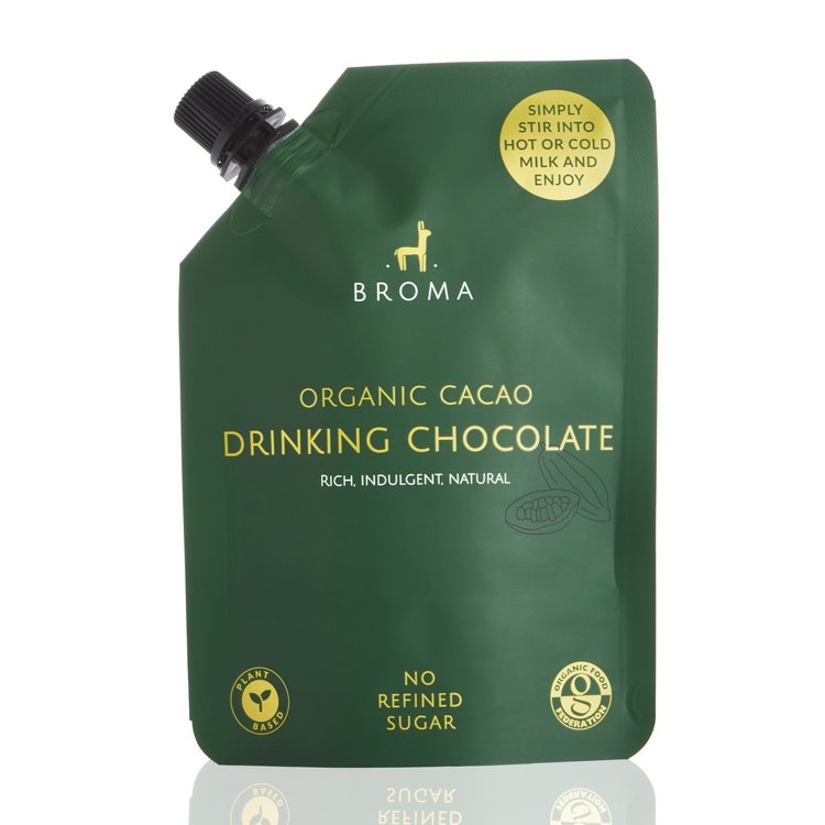 Raw Cacao Vegan Chocolate Sauce with Yacon & Dates Pouch 250ml