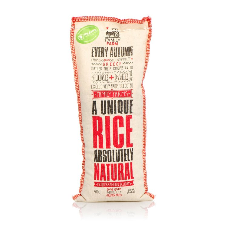 Gluten-Free Long Grain White Rice 500g