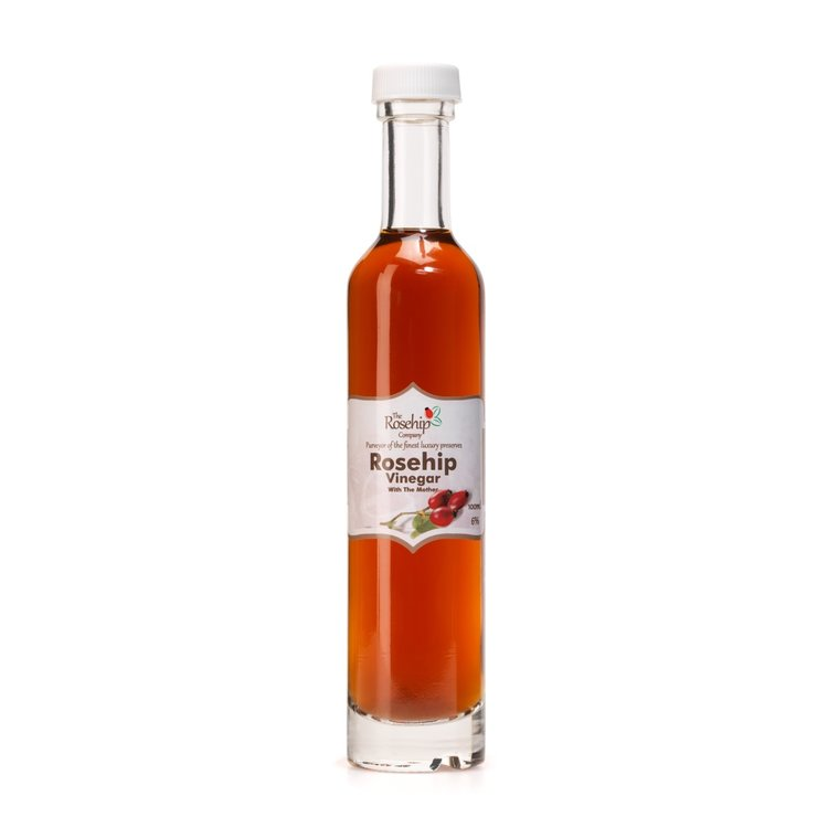 Raw Rosehip Vinegar with 'The Mother' 100ml