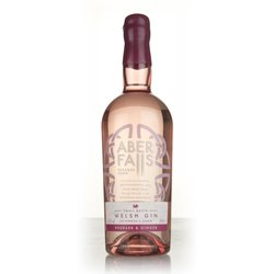 Aber Falls Welsh Rhubarb & Ginger Flavoured Gin 70cl 41.3% ABV
