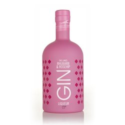 The Lakes Distillery Rhubarb & Rosehip Flavoured Gin Liqueur 70cl 25% ABV