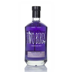 Two Birds Parma Violet Flavoured London Dry Gin 70cl 37.5% ABV