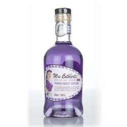 Mrs Cuthbert's Parma Violet Cupcake Gin Liqueur 50cl 20% ABV