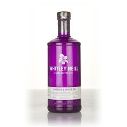 Whitley Neill Rhubarb & Ginger Flavoured Gin 70cl 43% ABV