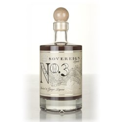 No. 3 Gin - Rhubarb & Ginger Gin Liqueur - Sovereign Spirits - 50cl 20% ABV