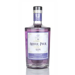 Premium Violet Craft Gin 70cl 40% ABV by Artful Pour