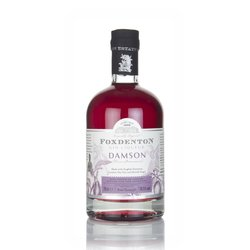 Damson Flavoured Gin Liqueur 70cl 18.5% ABV by Foxdenton Estate
