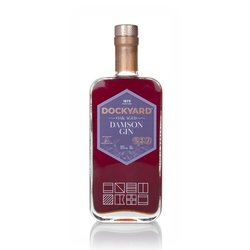 Copper Rivet Distillery Dockyard Oak Aged Damson Flavoured Gin 50cl 28% ABV