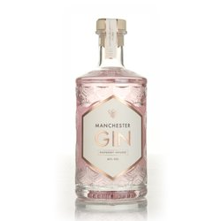 Raspberry Infused Manchester Gin 50cl 40% ABV