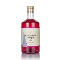 Derbyshire Distillery Chesterfield Strawberry Candy Floss Flavoured Gin 70cl 40% ABV