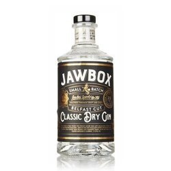 Irish Dry Gin 70cl 43% ABV by Jawbox Spirits