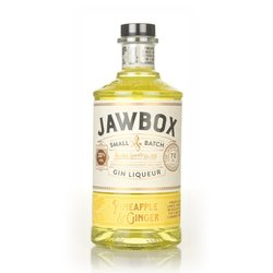 Pineapple & Ginger Irish Gin Liqueur 70cl 20% ABV by Jawbox Spirits