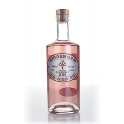 Hidden Gem Spiced Blackberry Flavoured Gin 70cl 42% ABV