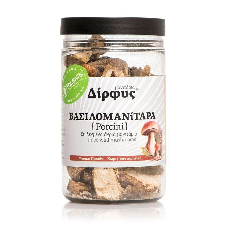 Dried Greek Porcini Mushrooms 30g