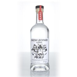 'Snow Leopard' Premium Polish Vodka 70cl 40% ABV by Polmos Lublin