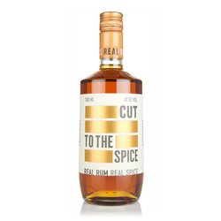 Cut Rum English Spiced Blended Rum 70cl 37.5% ABV