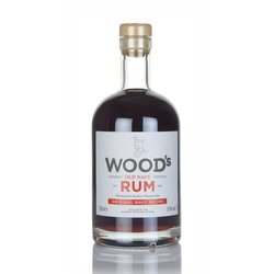 Wood's Old Navy Guyanese Dark Rum 70cl 57% ABV