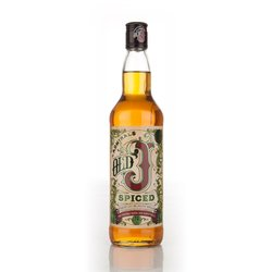 Old J Admiral Vernon's English Spiced Rum 70cl 35% ABV