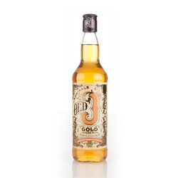 Old J Admiral Vernon's Gold Spiced English Rum 70cl 40% ABV