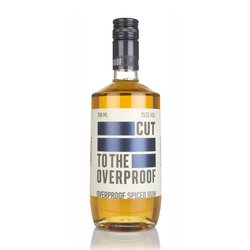 Cut Rum English Overproof Spiced Dark Rum 70cl 75.5% ABV