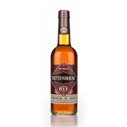 Rittenhouse Straight Rye 100 Proof American Whiskey 75cl 50% ABV
