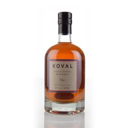 Koval Single Barrel American Rye Whiskey 50cl 40% ABV