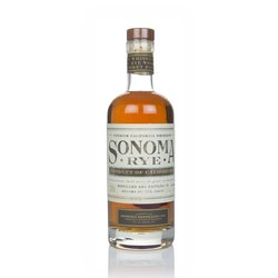 Premium American Rye Whiskey 70cl 46.5% ABV by Sonoma County Distilling Co.