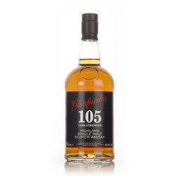 Glenfarclas '105 Cask Strength' 10 Year Old Single Malt Speyside Scotch Whisky 70cl 60% ABV