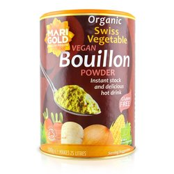 Organic Swiss Vegetable Bouillon Stock Powder 500g (Vegan, Gluten Free)