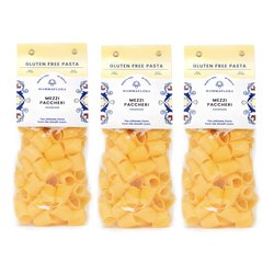 3 x Mezzi Paccheri Gluten-Free Italian Pasta (3 x 500g)