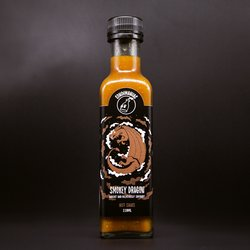'Smokey Dragon' Hot Chilli Sauce with Komodo Dragon Chilli & Smoked Paprika 250ml