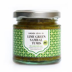Lime Green Sambal Tumis Chilli Sauce 100g (Vegan)