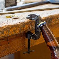Cast Iron Clamp Bottle Opener
