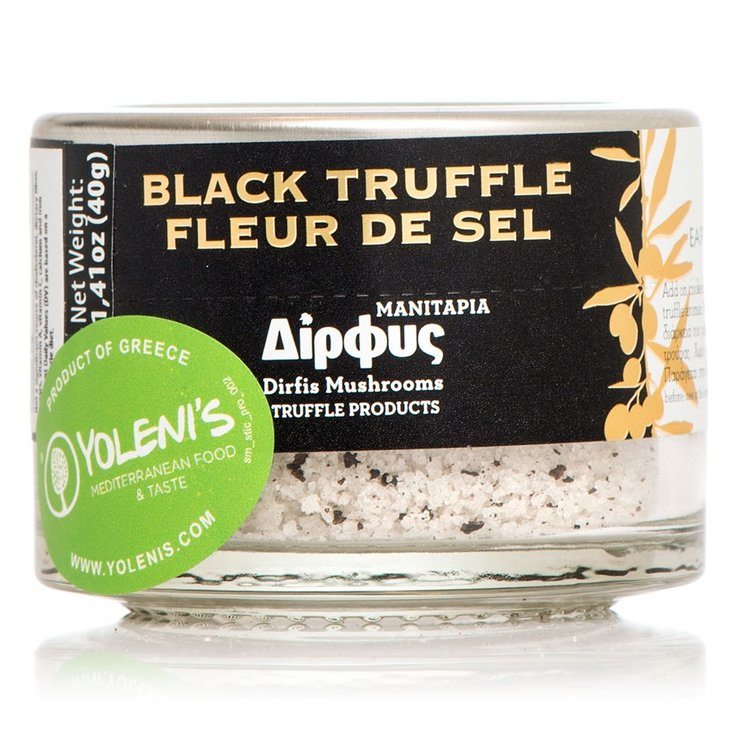 Sea Salt with Black Truffle 40g