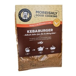 2 x 'Kebaburger' Vegan Kebab & Burger Tandoori Spice Blend Kit (2 x 28g)