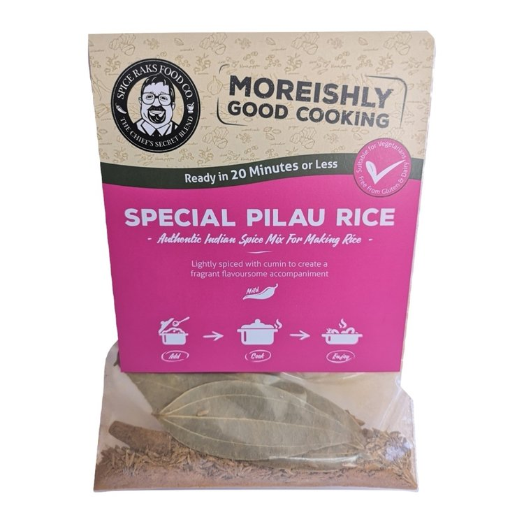2 x Special Pilau Rice Vegan Spice Blend Kit (2 x 8g)