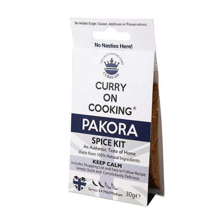 Pakora Curry Indian Spice Blend Kit 30g (Mild/Medium)