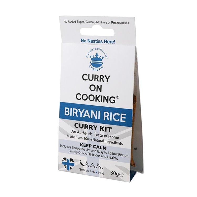 Biryani Indian Rice Curry Spice Blend Kit 30g