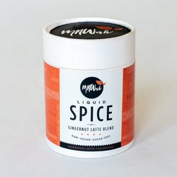 'Liquid Spice' Raw Gingernut Latte Drink Blend 100g (Vegan, Sugar Free)