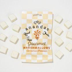 Handmade Gourmet Caramel Vegan Marshmallows 45g