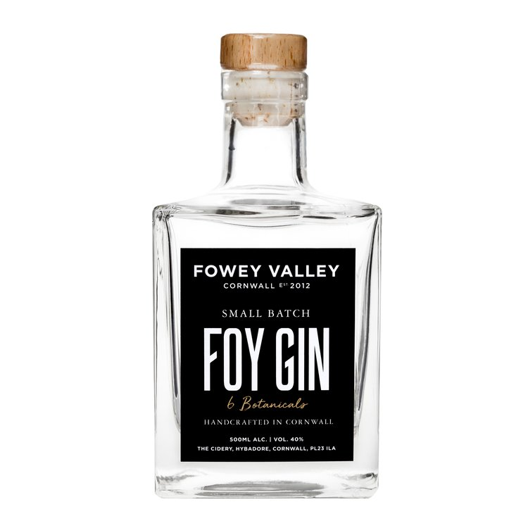 Small Batch Cornish Foy Gin 500ml 40% ABV