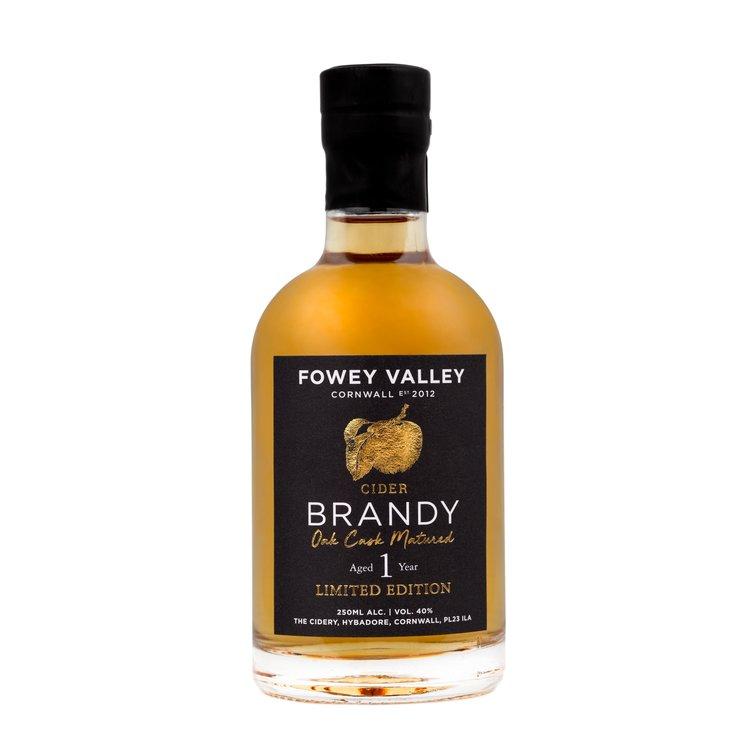 1 Year Aged Oak Cask Vintage Cornish Cider Brandy 250ml 40% ABV
